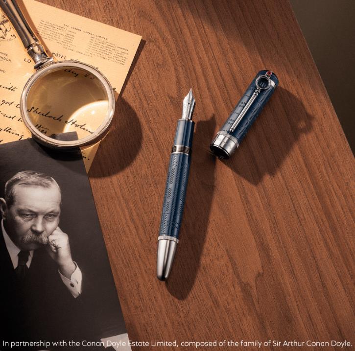 万宝龙发布全新大文豪系列阿瑟·柯南·道尔爵士特别款书写工具